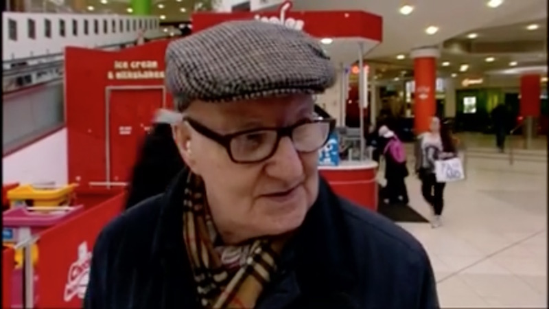 Wonderful old Irish man delivers diatribe against Americans who've ruined St. Patrick's Day.