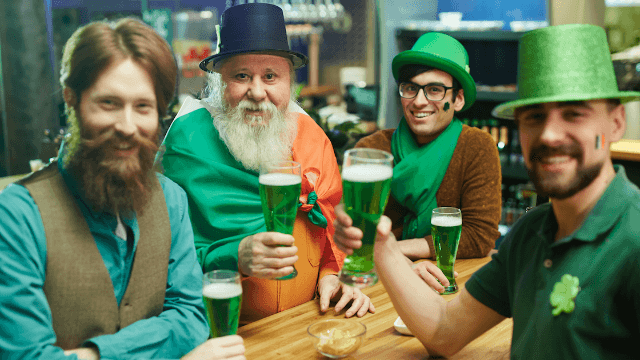 Raise a glass to the 14 funniest tweets about St. Patrick's Day.