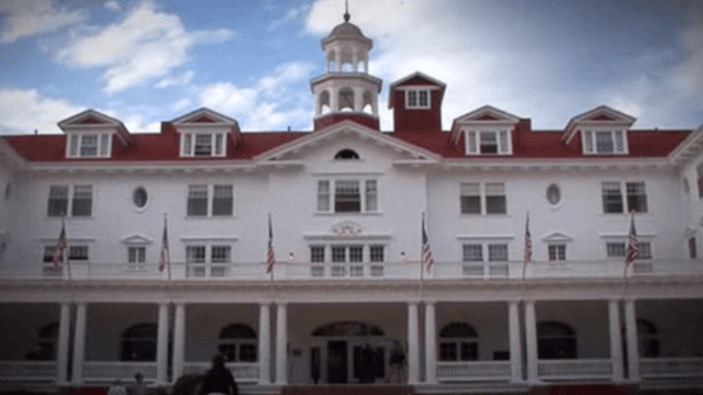 Man takes photo in the hotel from 'The Shining' and is somehow surprised there's a ghost in it.