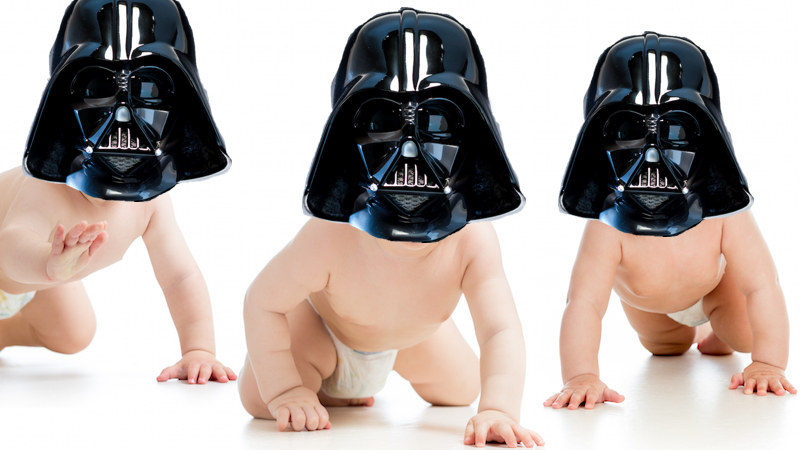 There is a disturbance in the Force: 'Star Wars' baby names are on the rise.