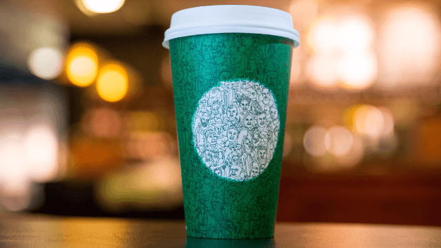 People are outraged by this Starbucks cup for the dumbest reasons.