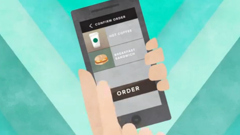 Starbucks will let you order from your phone so you never have to talk to humans again.