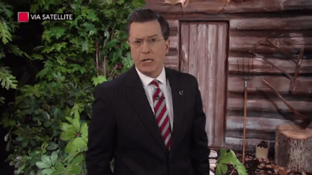 This is how Stephen Colbert bid farewell to 'landfill of angry garbage' Bill O'Reilly.