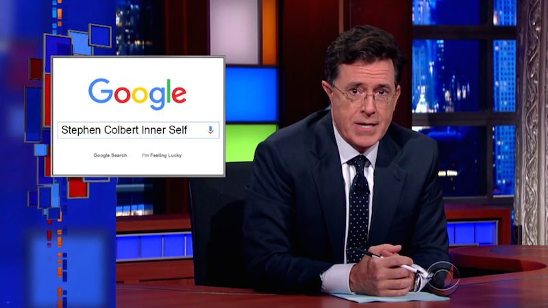 """Colbert took tests to discover his true personality. Turns out, he's a lot like """"Stephen Colbert."""""""