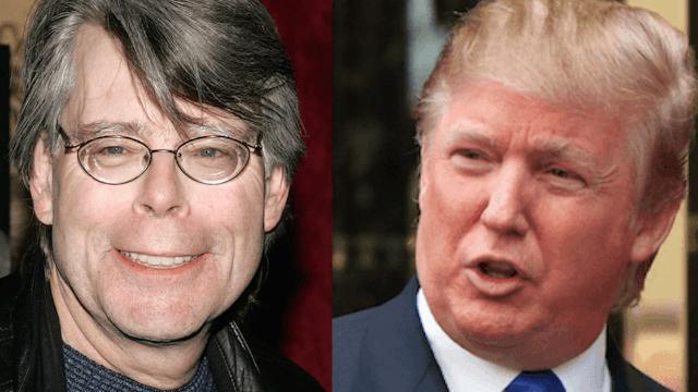 Stephen King trolls Donald Trump with 3-sentence horror stories on Twitter.