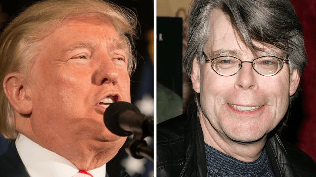 Stephen King trolls Donald Trump for being the scariest character imaginable.