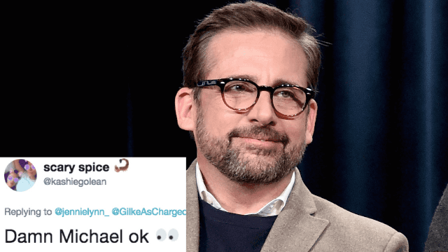 Steve Carell is a silver fox now and Twitter can't stop thirsting.