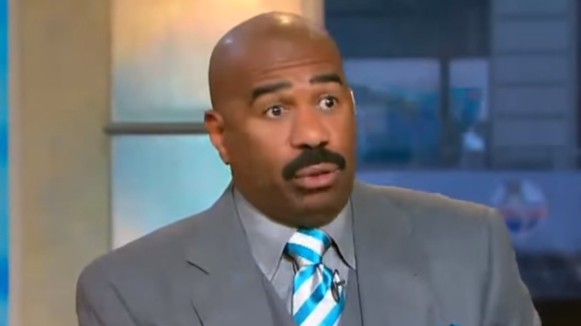 Steve Harvey says a lot of stupid things, even if he is cute on 'Family Feud.'