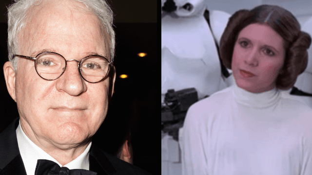 Steve Martin deletes tweet after backlash over remembering 'beautiful creature' Carrie Fisher.