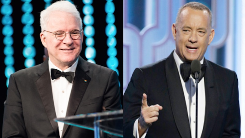 """Tom Hanks and Steve Martin got into it on Twitter over a lost sock. And by """"it,"""" we mean """"charm."""""""