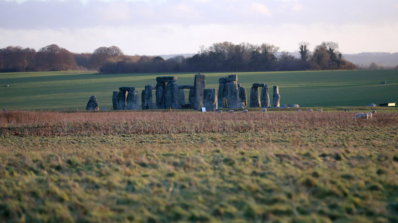 A bigger, better Stonehenge has been found near the lame-o original Stonehenge.