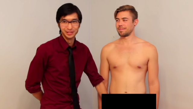 Straight men touched another man's penis for the first time and everyone was cool about it.