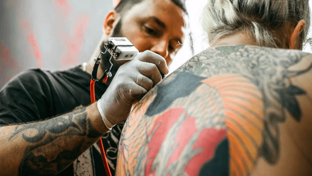 Here's what 5 random people said when I asked them to explain their tattoos.