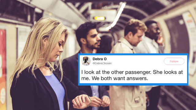 This thread about strangers romantically meeting on a train has Twitter falling in love.