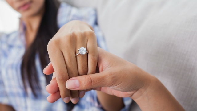 Guy asks if he's wrong to tell classmate engagement rings costing 3 months salary is 'gold digging.'