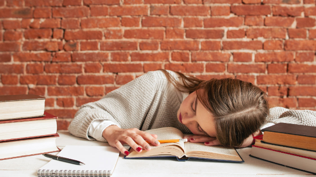 Student falls asleep in class and her teacher has the best possible response.