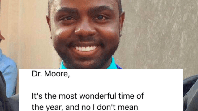 Student wins extra credit for entire class with this hilarious email to his professor.
