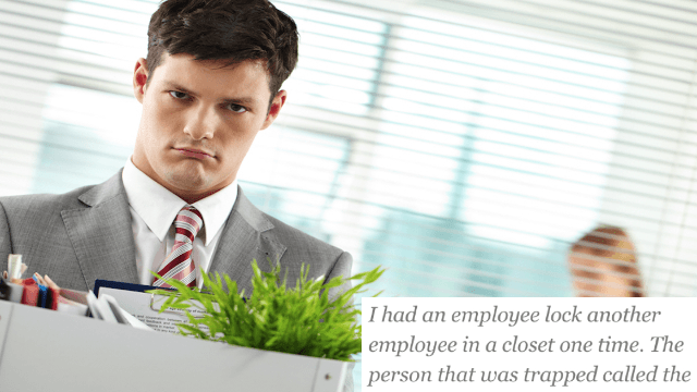 People shared the dumbest things their former coworkers ever did to get their asses fired.