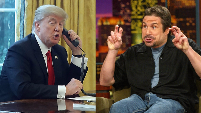 Comedian claims he prank called President Trump