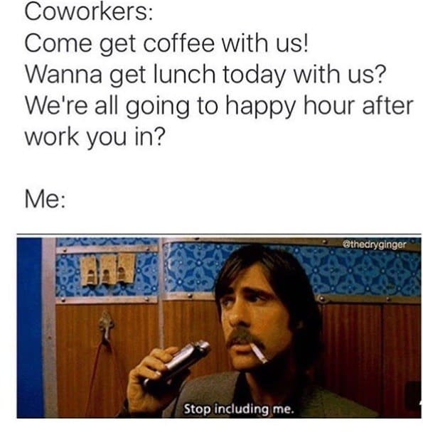 flirting at work memes funny