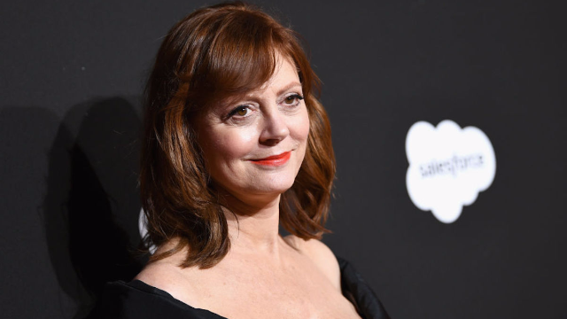 Susan Sarandon says she was arrested while protesting Trump's immigration policy