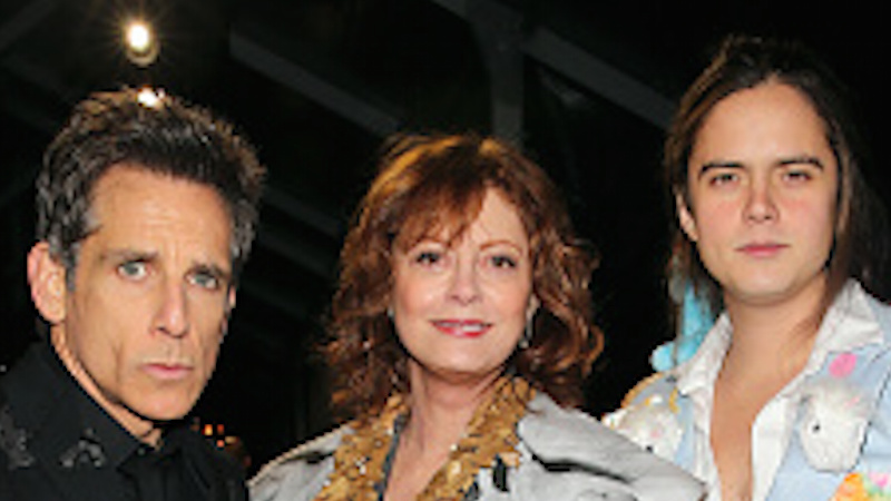 Susan Sarandon's son wore a blazer decked out with 'My Little Pony' plushies to the 'Zoolander 2' premiere, and it was a fashion moment.