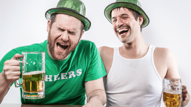 Ill-advised St. Patrick's Day t-shirt offends everyone with tasteless booze joke.