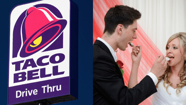 You can now get married in a Taco Bell because dreams come true.