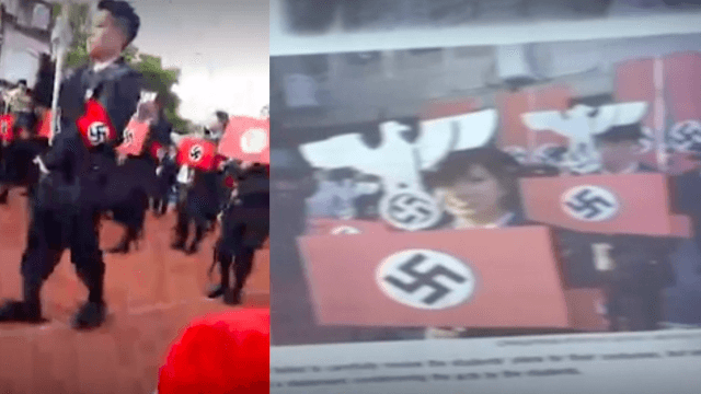 Who thought letting high school kids have a Nazi parade was a good idea?