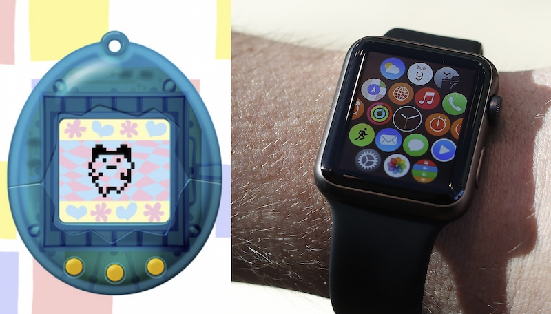 2015 meets 1996: you can get a Tamagotchi on your Apple Watch.