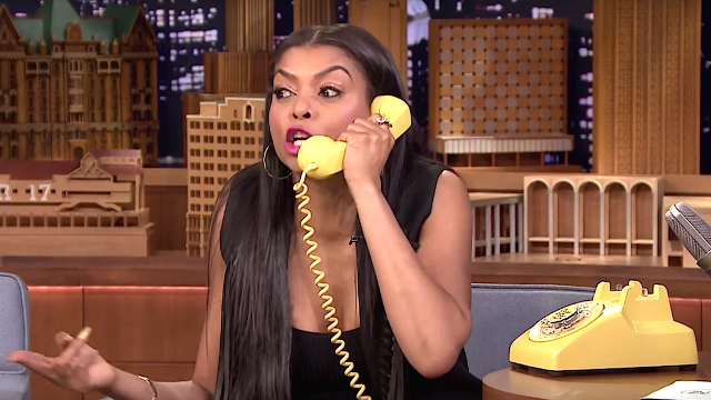 Cookie from 'Empire' gets stuck in space and Jimmy Fallon farts in the 'Acting Game.'
