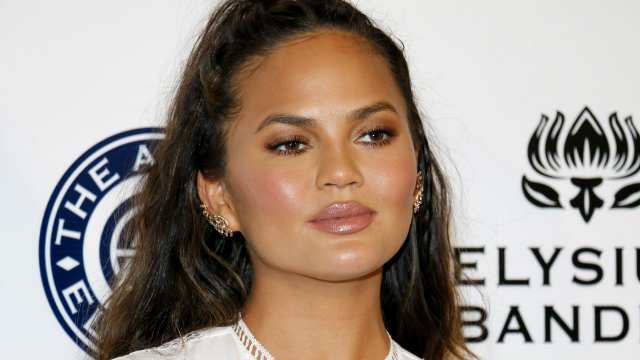 Chrissy Teigen's dad got a tattoo of her face and the internet can't handle it.