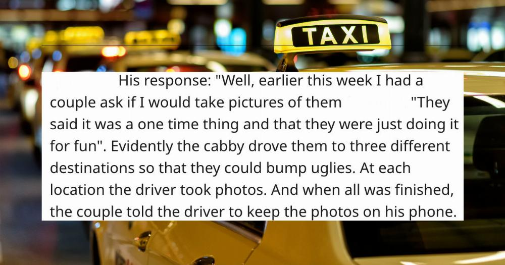 Taxi drivers are sharing the deepest secrets they overheard in their cabs.