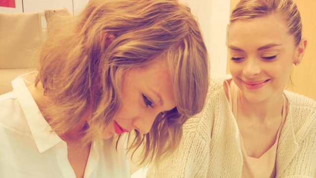 Congratulations to Taylor Swift on the new godson and Instagram post.