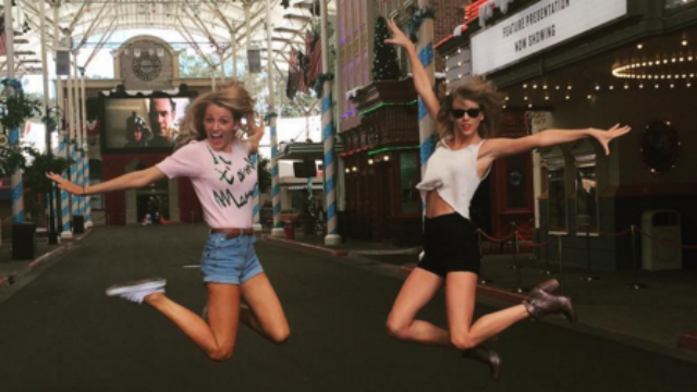 Taylor Swift added Blake Lively and a kangaroo to her squad this weekend.
