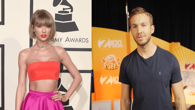 Taylor Swift and Calvin Harris are apparently friends again for a very specific reason.