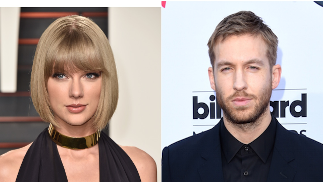 Taylor Swift and Calvin Harris celebrate one-year anniversary with folksy charm.