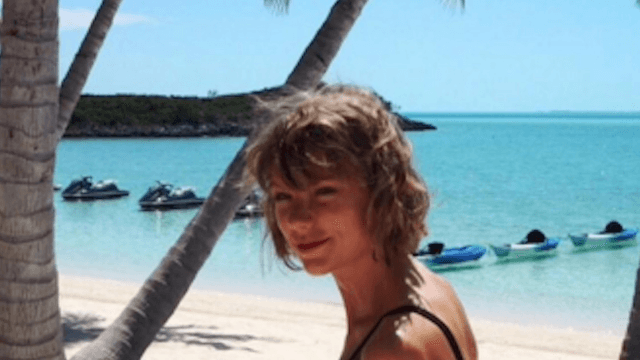 Taylor Swift and Calvin Harris can't stop posting disgustingly cute Instagrams of their tropical vacation.