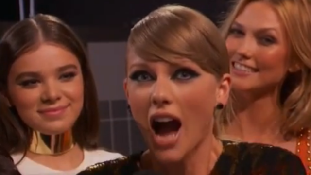 Did Taylor Swift fart on camera during this moment at the VMAs? Grown adults want to know.