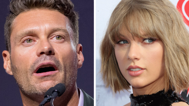Someone pointed out that Ryan Seacrest's mom looks exactly like Taylor Swift. It got weird.