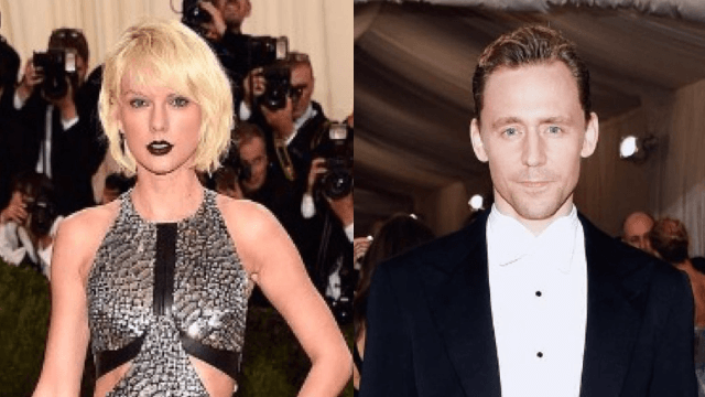 Watch Taylor Swift and Tom Hiddleston dance together like a couple of middle schoolers with something to prove.