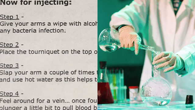 Teacher cooks up drama with homework assignment about how to make meth.