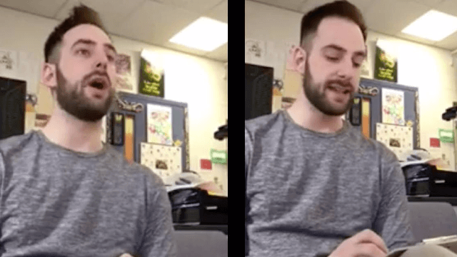 Teacher's hilariously cruel spelling prank goes viral. His students didn't love it.