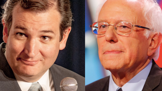 Ted Cruz just made a cringeworthy 'Curb Your Enthusiasm' joke to Bernie Sanders' face. Oof.