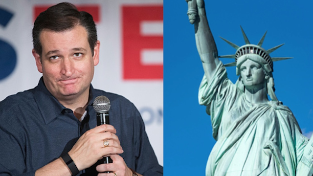 Twitter strikes back at Ted Cruz for his dumb comments about 'New York values.'