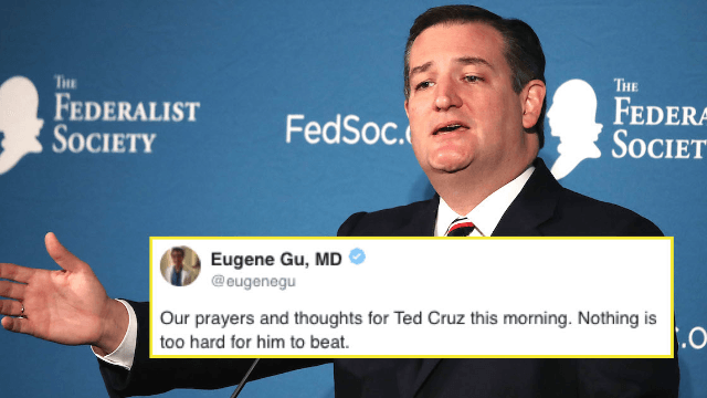 Ted Cruz liked a hardcore porn vid on Twitter and the internet's giving him a really hard time.