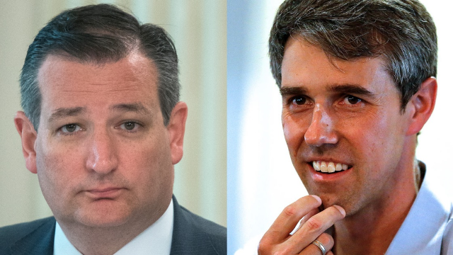 This two-part story of Ted Cruz realizing that Beto O'Rourke is hotter than him is what the internet is for.