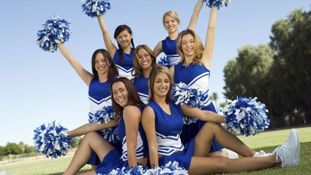 Teen with Down syndrome removed from high school yearbook's cheerleading photo.