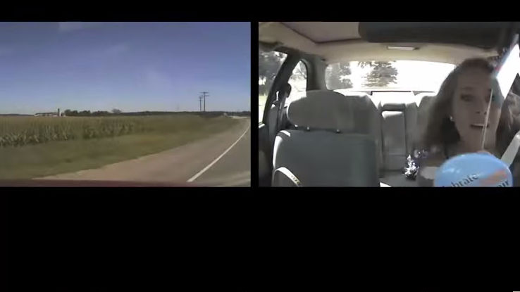 Dashcam videos of distracted teens crashing cars will make you fear teens, texting.