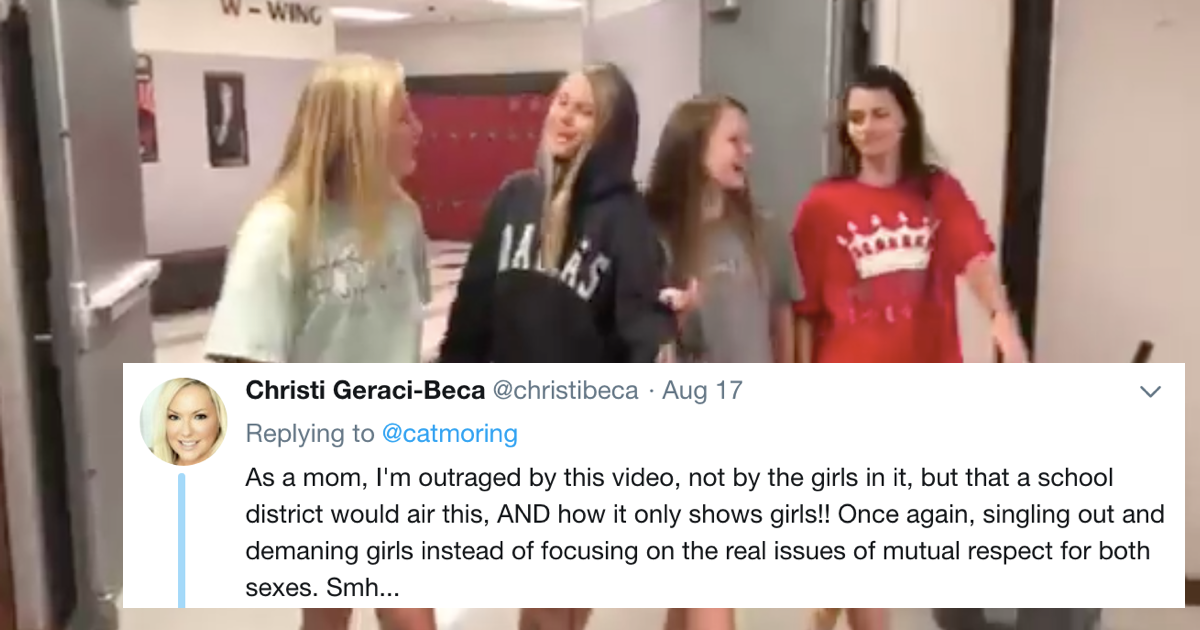 High school apologizes for 'sexist' dress code video about ...